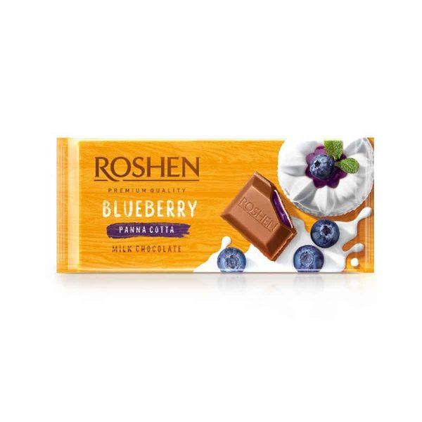 Roshen Blueberry Panna Cotta