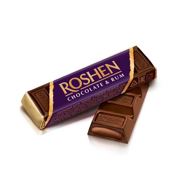 Roshen Dark Chocolate Rum