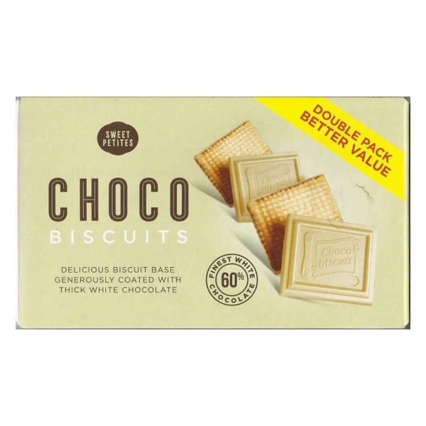 Sweet Petites Choco Biscuits White